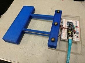 3D printed MEMS accelerometer