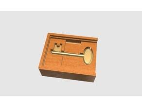 Supernatural Men of Letters Key Box and Key