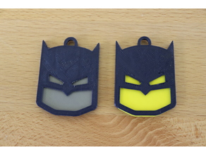 Batman Keychain (Fitted, Two Pieces)