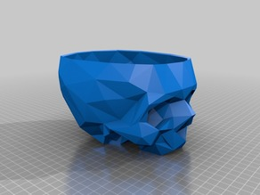 Skull Planter (Low Poly)