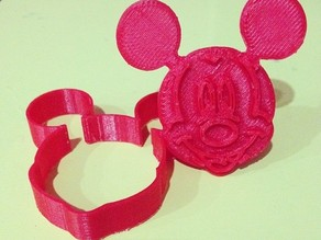 Mickey Mouse cookie cutter v2