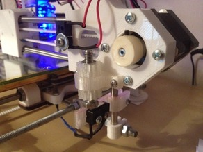 eMaker Huxley modified Z endstop