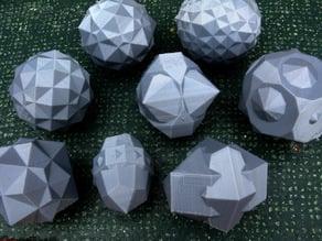 Johnson Polyhedron-Dual Compounds