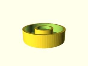 Simple round magnet