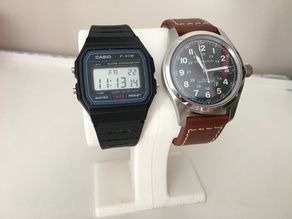 Watch Stand for 22mm Straps Paired