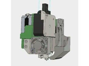 cr10 titan + e3d V5 heatsink , qith pancake motor 25-28mm BETA