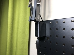 Peg Board Mount for Clamp Lamp
