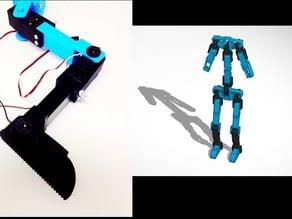 Servo Bracket Robot Kit