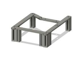 Ender 2 Legs (aluminium extrusion style)