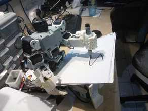 Bioloid Robot Hands