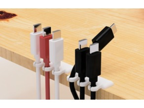 USB cable holder-1