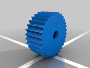 Print Bed Thumb Wheel