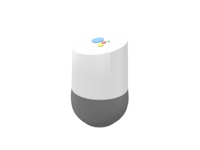 Google Home with Google Assistant logo