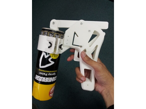 Spray Gun With Safety Lock
