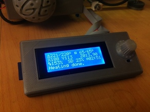 Housing for LCD Smart Controler