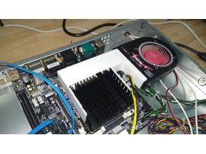 PCI fan conversion  head for 1U Rack Cases