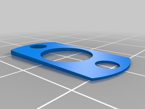 """another """"Ender 2""""  z-axis correction spacer"""