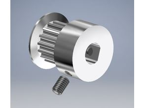 GT2 16T Timing Pulley (5mm shaft) with dual set screw suitable for CNC