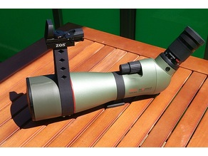 Dovetail Rail for Kowa TSN-883 Spotting Scope