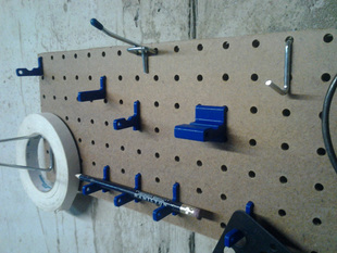 Peg Board Hanger