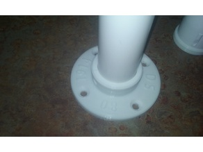 flange and flare for 1 1/4 PVC Pipe and fittings