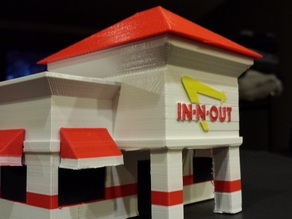 In-N-Out Scale Model