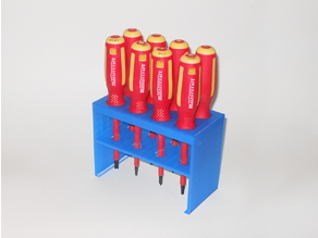 Insulated Screwdriver Rack