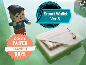 Smart Wallet Version 3  with Slide Box