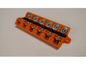 Low Voltage - Terminal Block - 12 post - 45 degree