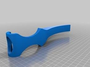 Long Handled Razor Assistance Device/Holder