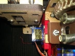9g Servo mount for Makerfarm i3 modded