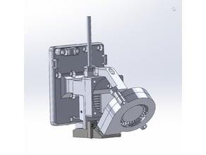 Anet A8 E3D V6 Bowden Extruder with Original Prusa Angeld Part Cooler