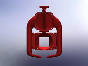 Prometheus V2 40mm Cooling Fan Shroud - Adjustable Height- Version 2