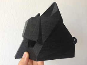 Cat Low Poly Masquerade Mask