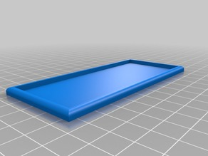 5x2 movement tray for 28 mm miniatures