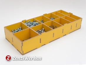Compartment Storage Box cnc/laser