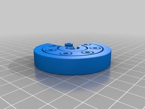 My Customized Parametric Caged Roller Bearing
