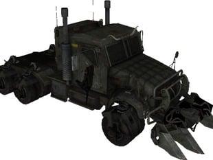 Megatron Vehicule