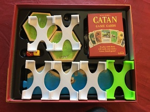 Settlers of Catan card holder cozy