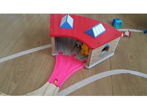 3-Way Approach for Brio Thomas Engine Shed