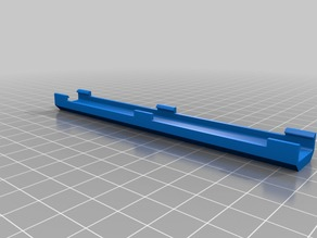 Creality Ender 3 ribbon cable clip - long version