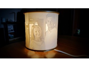 360 degree Lithophane
