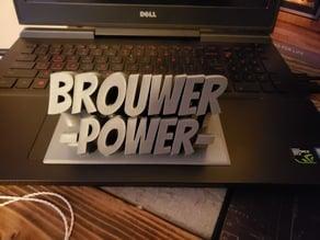 BrouwerPowerNamePlate