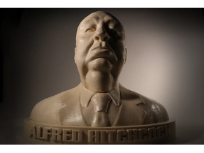 Alfred Hitchcock bust