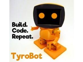 TyroBot: DIY Humanoid Robot Kit