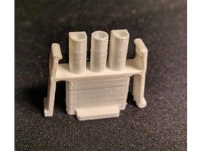 Schaudt Electrobloc (EBL) solar MNL male connector