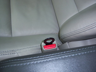 Seat Belt Anchor/Bag Holder