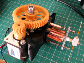 Mini Quick-Fit Huxley sized extruder #30DoC