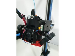 Pikistruder- CR-10 Best direct extruder upgrade - Bondtech BMG+E3D V6  + Bltouch(optional)