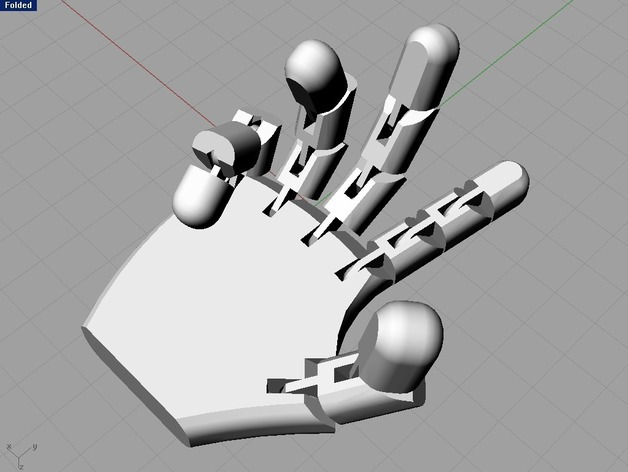 Robot Hand By Feklee Thingiverse